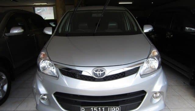 Jual Toyota Avanza Veloz Metic 2012 Silver Jakarta Utara