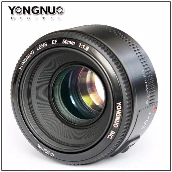 harga Lensa canon 50mm f1.8 merk yongnuo Tokopedia.com