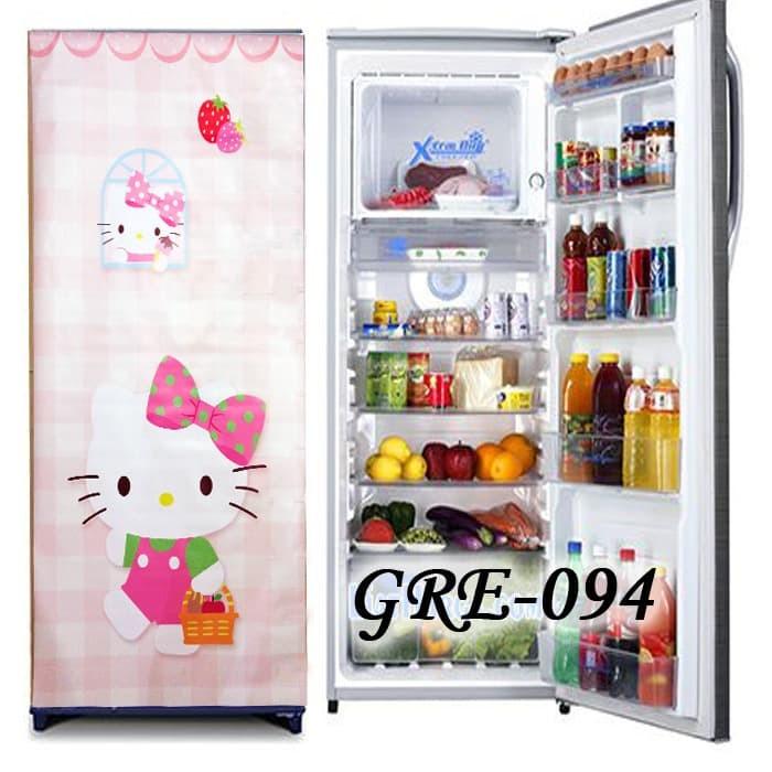 Harga Kulkas 1 Pintu Gre184 Pink Hello Kitty Wallpaper Sticker Wal Paper Tokopedia