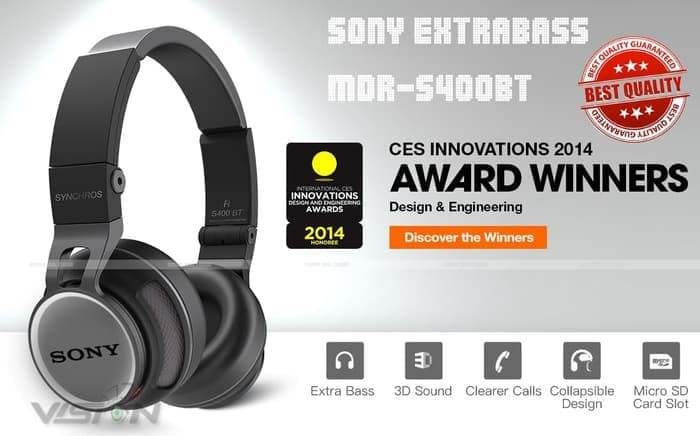 harga Headset bluetooth sony mdr-s400+ wireless touch control Tokopedia.com
