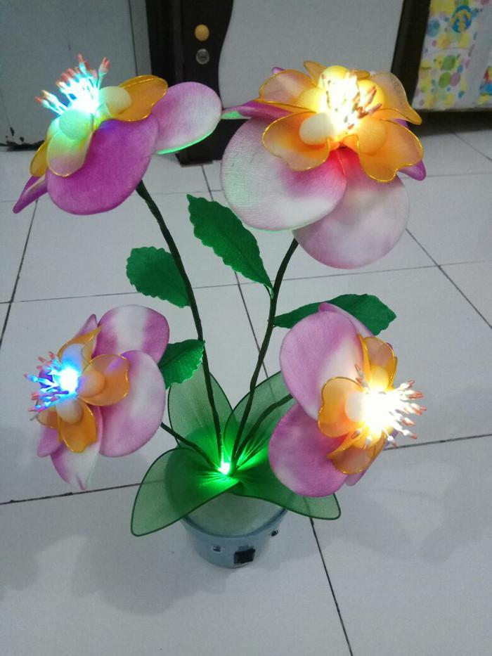 Jual Bunga Hias Stocking Lampu Bunga Hias Bunga Led Lampu Led Kab Sidoarjo Raqilal Craf Tokopedia