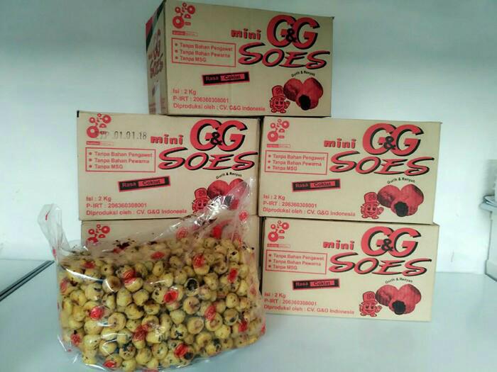 harga Gg soes kering isi coklat Tokopedia.com