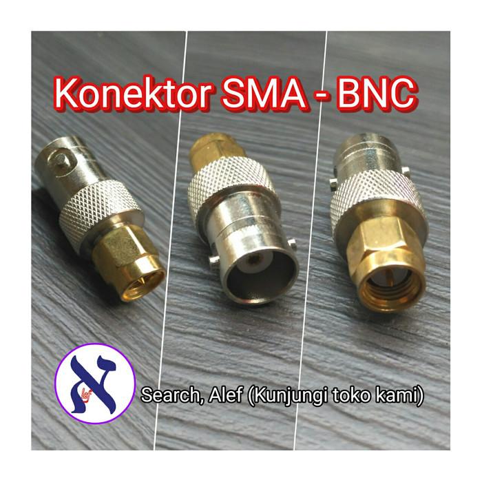 harga Konektor sma male to bnc female converter connector radio Tokopedia.com