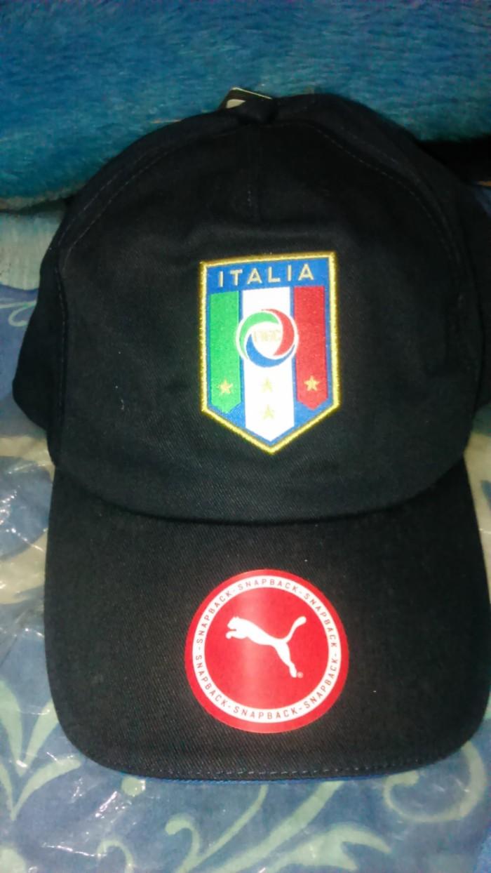 5edcc25d8b2 Jual Topi hat Italy italia Original - fhm BLACKWHITE