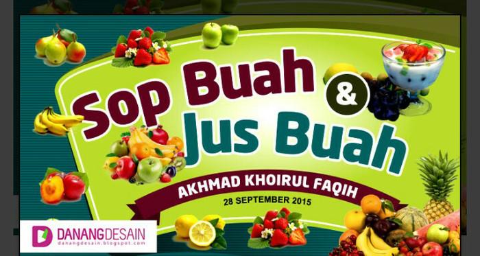 15+ Best New Spanduk Sop Buah Dan Jus - Heart and Lingszine