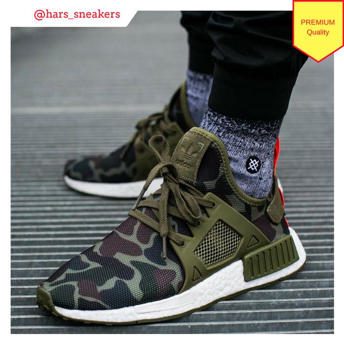 hot sale online 97eda b774f Jual Sepatu Adidas NMD XR1 Duck Camo Olive Green Army | Premium Original -  DKI Jakarta - HarsoyoEko Store | Tokopedia