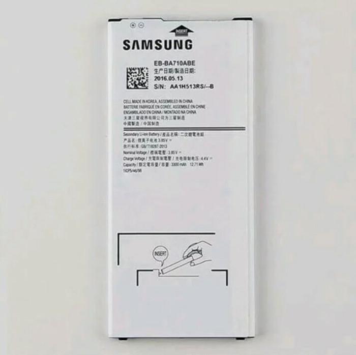 harga Baterai batre bateray samsung a7 2016 a710f original. Tokopedia.com