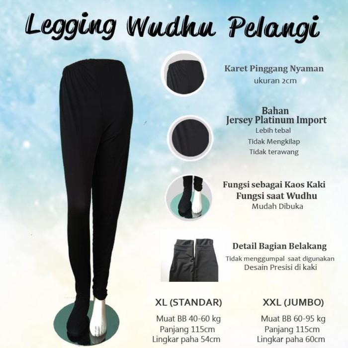 Jual Celana Hijab Legging Wudhu Pelangi Legging Syar I Untuk Para Muslimah Jakarta Pusat Syakira Fashion Hijab Tokopedia