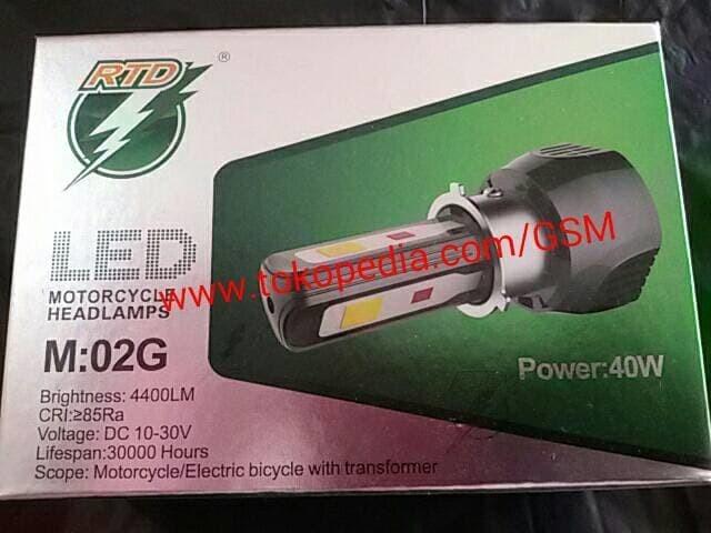 harga Lampu utama headlamp led cree 3 sisi titik rtd m02g  40w motor mobil Tokopedia.com