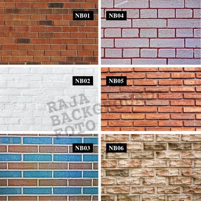harga Alas & background foto motif new brick 100x50 cm (waterproof) Tokopedia.com