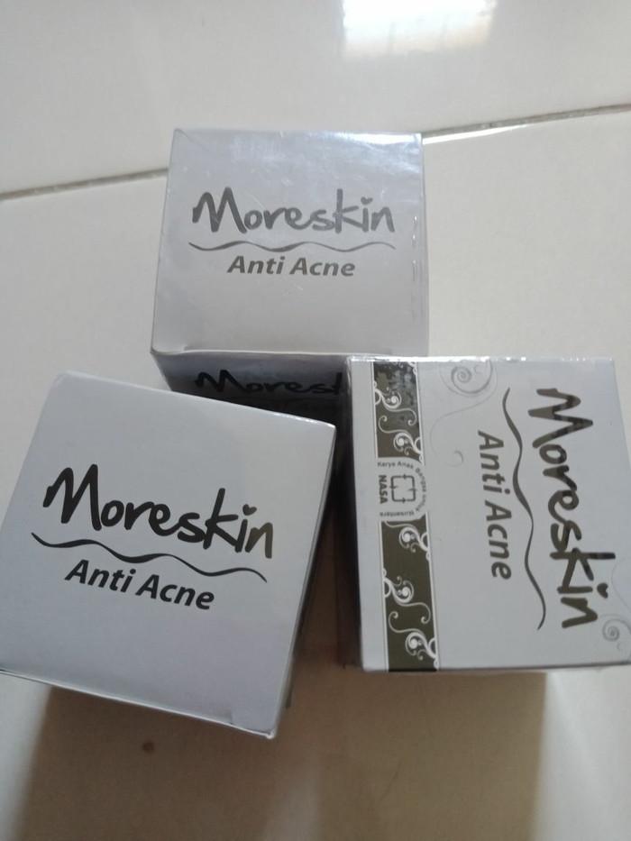 harga Moreskin anti acne / obat jerawat nasa jakarta Tokopedia.com