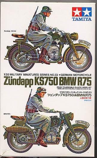 harga Military tamiya 1/35 zundapp ks750 & bmw r75 Tokopedia.com