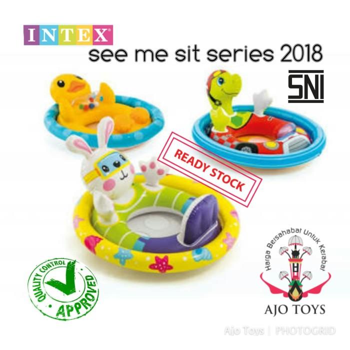 harga Intex see me kid kura-kura ban renang anak berpenahan kaki Tokopedia.com