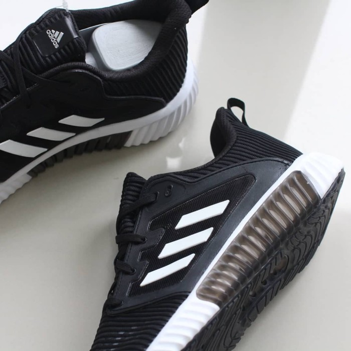 76f8d66bd3ab9 Jual Adidas Climacool Bounce 1 Tech 2018 Black White ORIGINAL - Kab ...