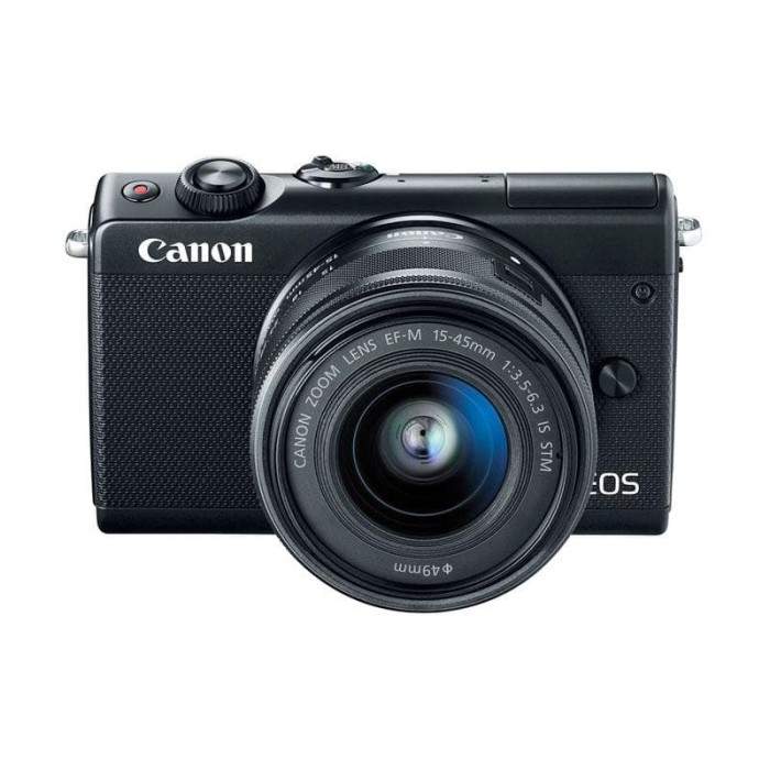 Jual Canon Eos M100 Kit 15 45mm Kamera Mirrorless Black Kota Palembang Star Digital Electronic Tokopedia