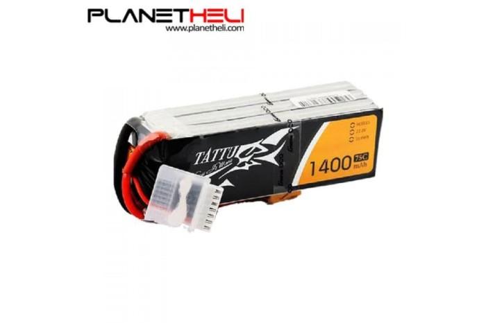 harga Tattu 1400mah 22.2v 75c 6s1p lipo battery pack with xt60 plug Tokopedia.com
