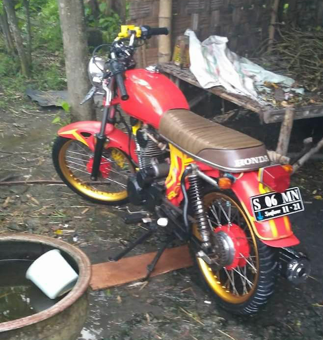 Jual Cb Glatik Modif Clasic Kab Lamongan Street Bikes Tokopedia