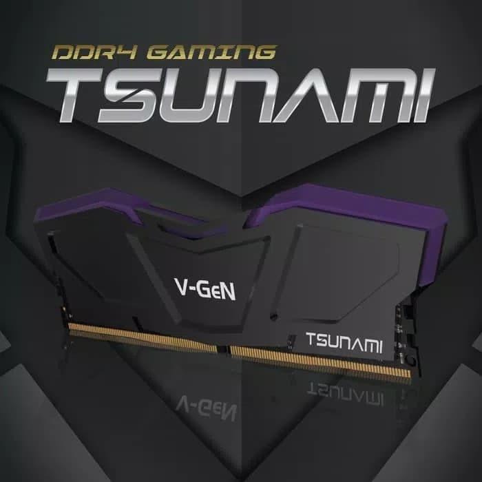 harga V-gen tsunami ddr4 16gb (2x8gb) 3200mhz cl16 gaming oc memory Tokopedia.com