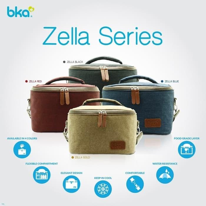 Bka cooler bag zella series tas asi free 2 botol asi dan 1 icegel
