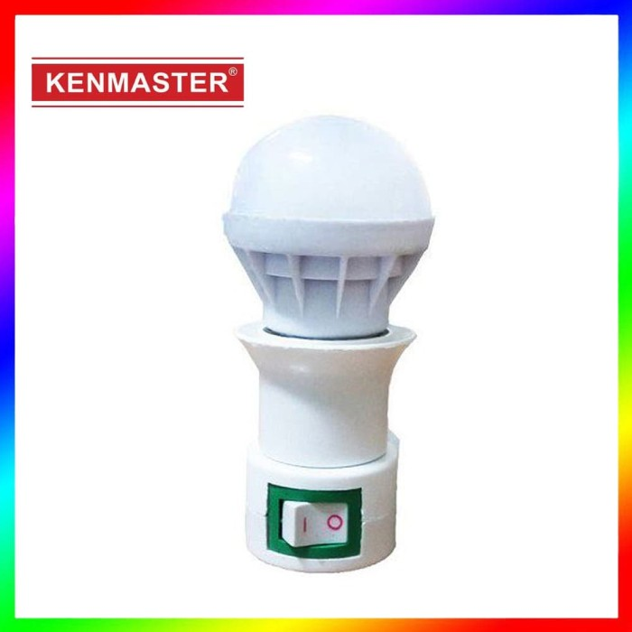 Kenmaster Lampu Tidur Dim Night Light 3W LED 3 Watt 200v