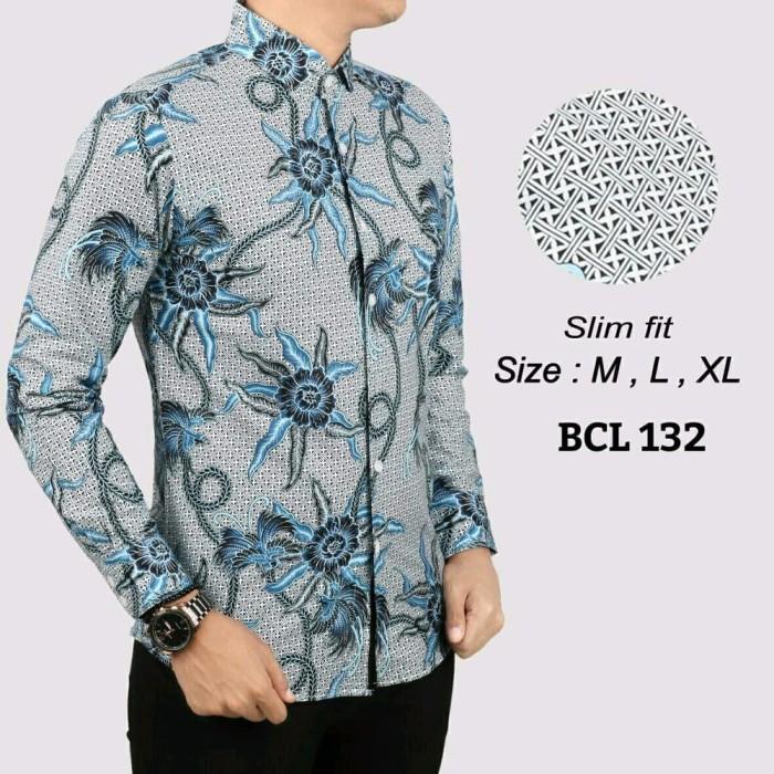 Jual Olshop Fashion Pria Kemeja Batik Modern Slimfit High Quality 443b7003c0