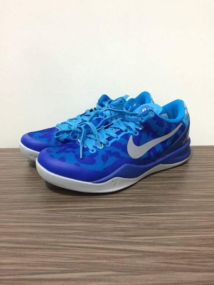 reputable site 85183 d0eb3 SEPATU BASKET Nike Kobe 8 Blue Coral PREMIUM ORIGINAL 40-46