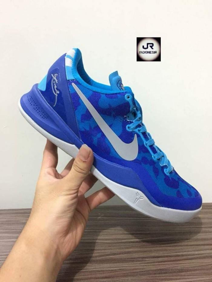 Jual SEPATU BASKET Nike Kobe 8 Blue Coral PREMIUM ORIGINAL 40-46 ... 88882dda1c