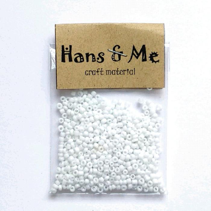 Foto Produk Mote Manik Payet Pasir - Putih dari Hans and Me