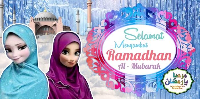 Spanduk I Banner Ramadhan Ceria