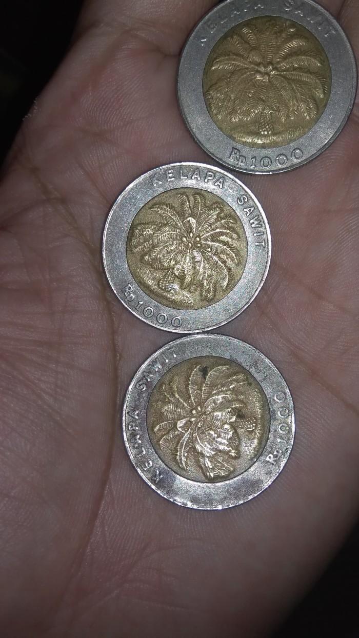 harga Uang Koin 1000 kelapa sawit tahun 1996 Tokopedia.com