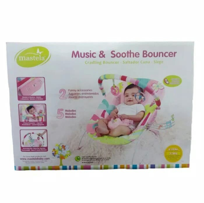 harga Bouncer mastela soothing vibrations bouncer baby Tokopedia.com