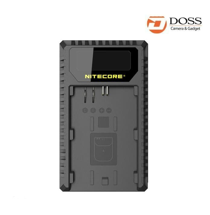 harga Nitecore ucn1 dual-slot usb travel charger for canon lp-e6 lp-e6ne8 Tokopedia.com