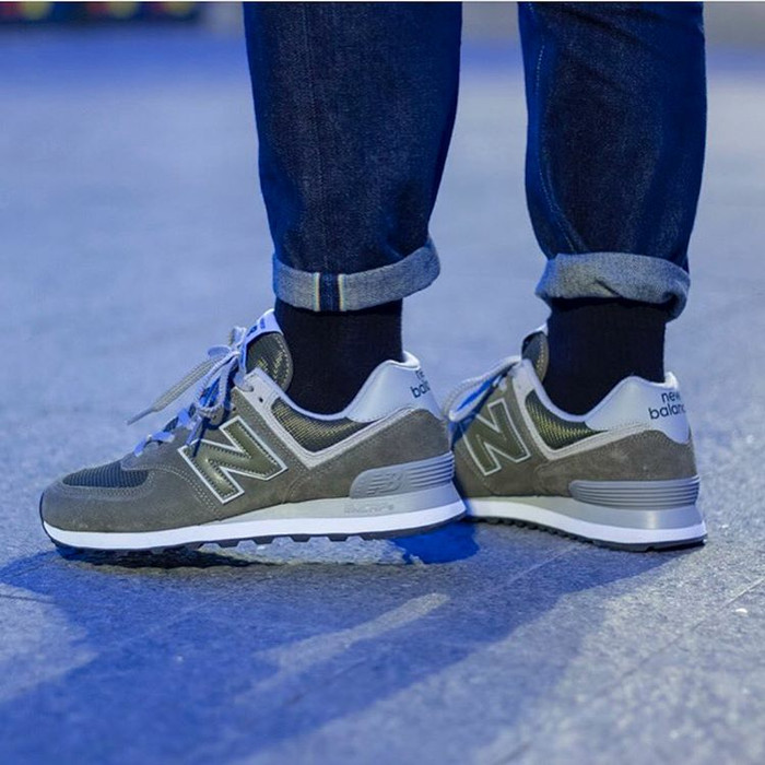"official photos 49e40 007c0 Jual 550.000 NEW BALANCE ML 574 EGO ""OLIVE GREEN"" ORIGINAL MADE IN INDO -  Kota Depok - dacos shoes | Tokopedia"