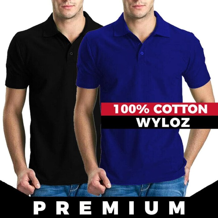 Jual Diskon Baju Kaos Polo Shirt Kerah Pria Polos Lacoste Cotton ... 7a2a2b9b5b