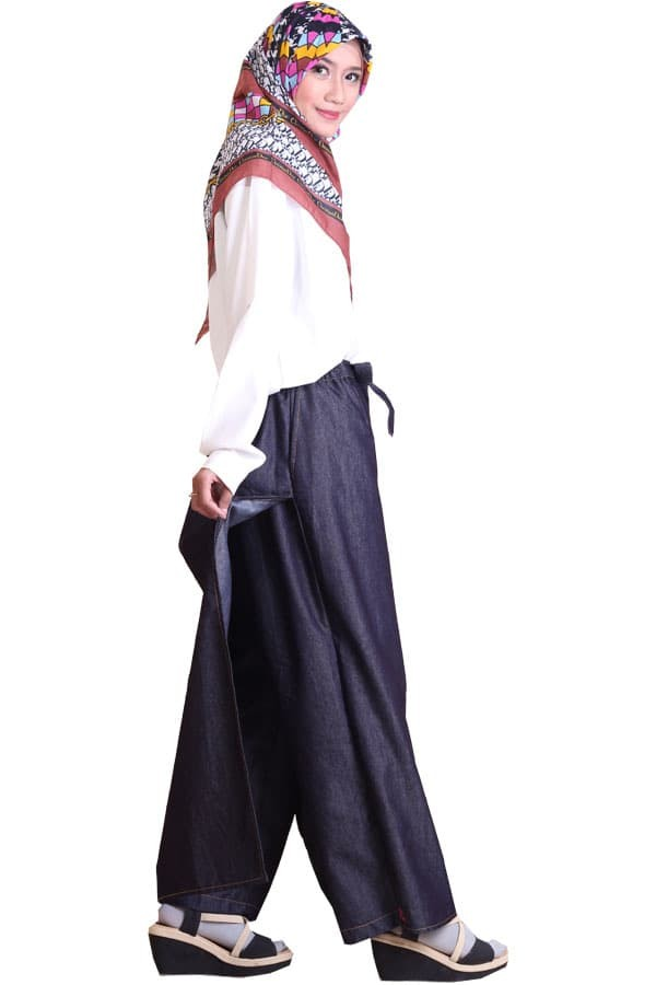 MURAH Rok Celana (Rocella) Denia Jeans Black xxl-xxxl