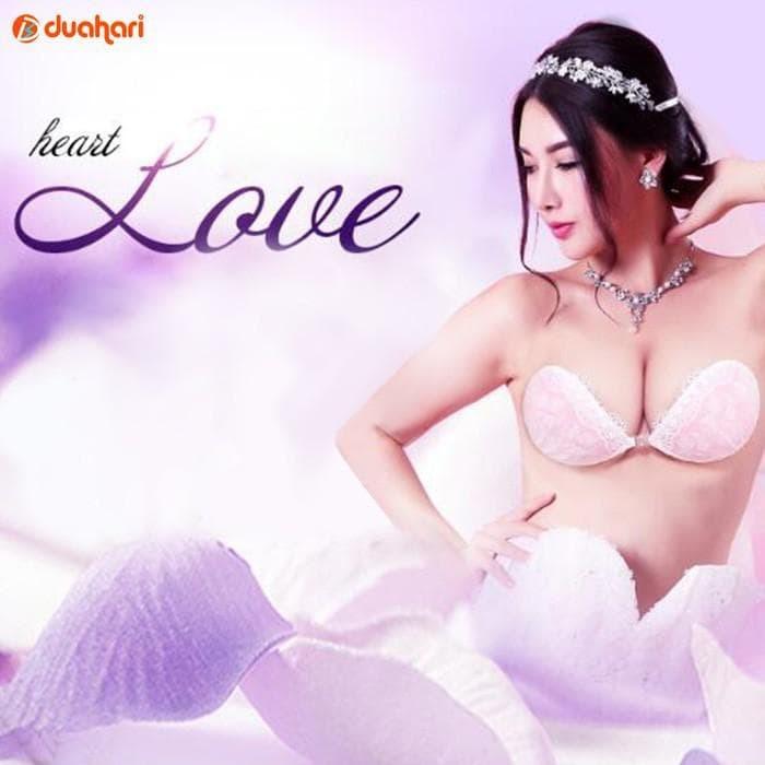 204e289314462 Jual Lace Padded Silikon Bra Free Bra Push Up Bh Bra Tempel Tanpa ...