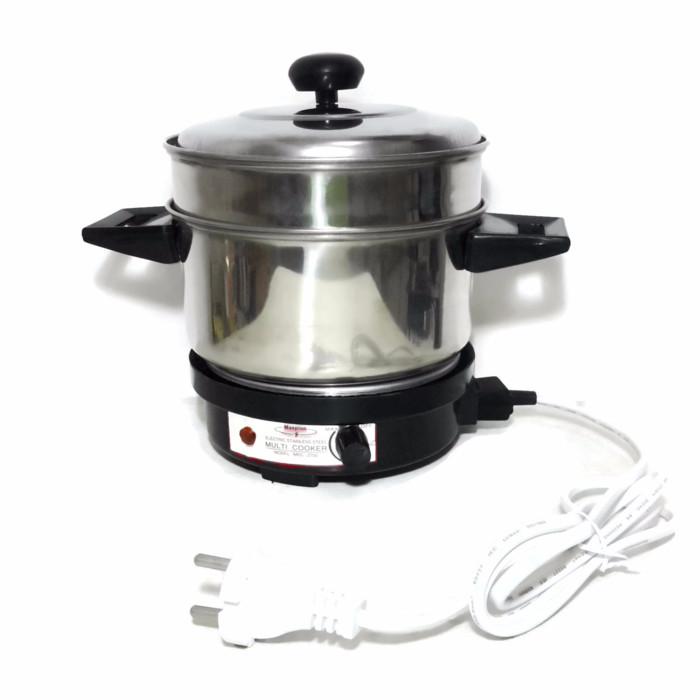 Maspion alat masak listrik serba guna mec2750 - hitam
