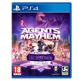harga Kaset ps4 bd game : agents of mayhem Tokopedia.com