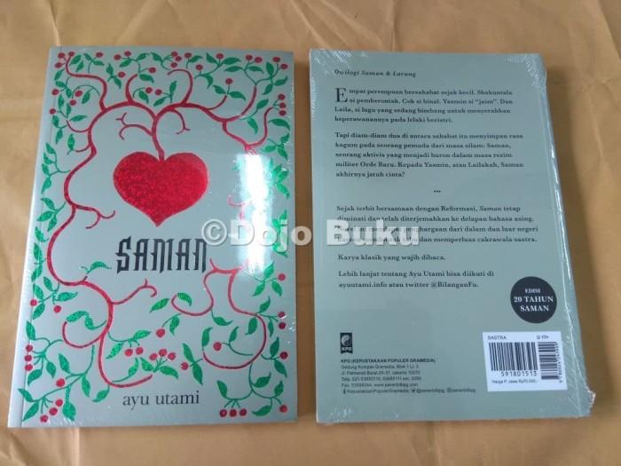 harga Saman - cover baru 2018 by ayu utami Tokopedia.com