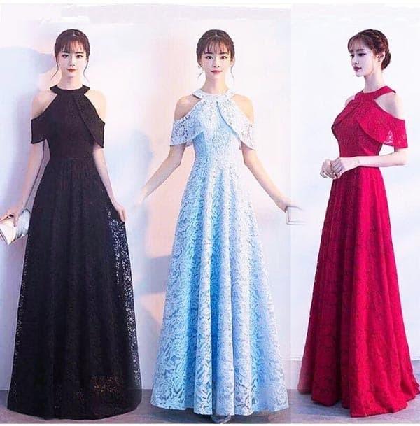 harga Jes-ps1412 longdress brokat-maxi dress sabrina party import-gaun pesta Tokopedia.com