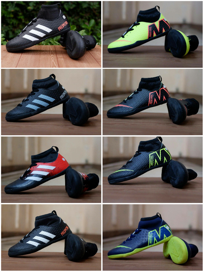 Sepatu Futsal Adidas Predator Nike Mercurial Kids Futsal Anak anak