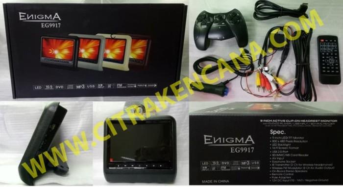 harga Headrest Dvd Monitor Clip - On Enigma Blanja.com