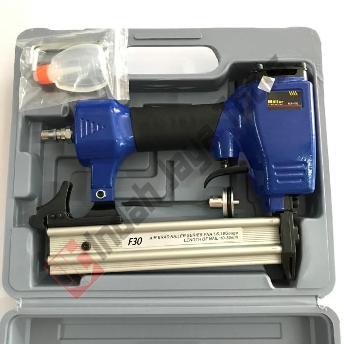 harga Air nailer f30 mollar / mesin alat paku tembak staples stapler Tokopedia.com