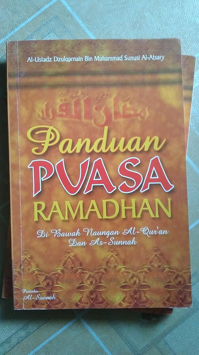Jual Panduan Puasa Ramadhan Di Bawah Naungan Quran&Sunnah Ust Dzulqarnain Kota Batam Rumah Buku & Gamis