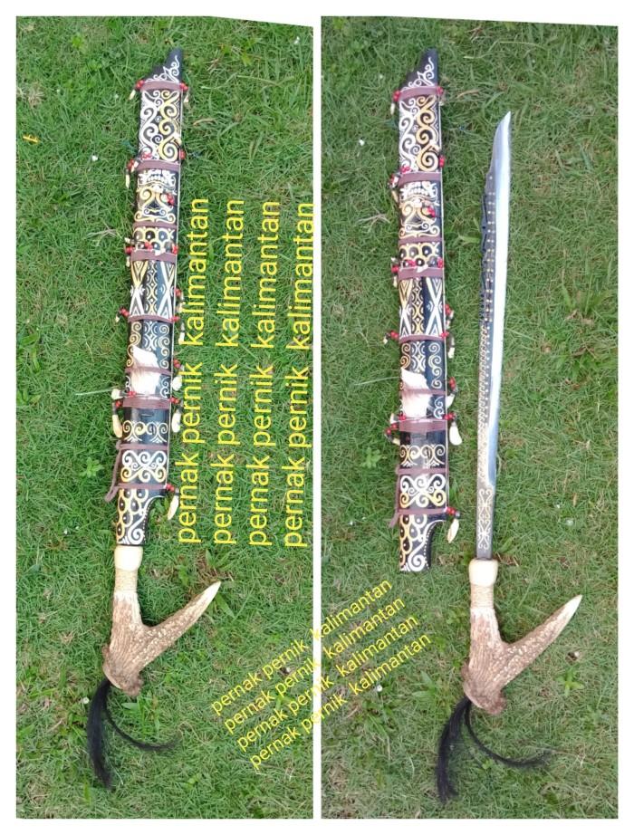 harga Mandau tanduk asli big size 08 Tokopedia.com
