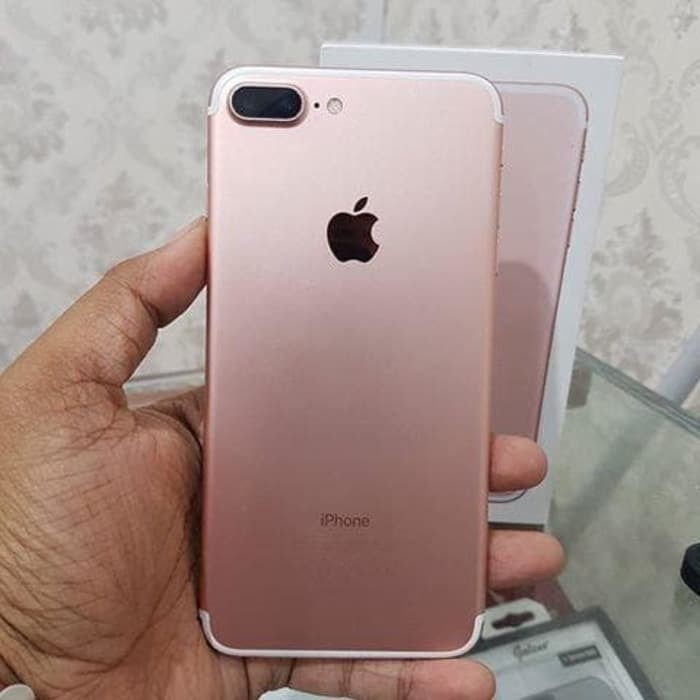 Jual Apple Iphone 7 Plus Rose Gold 256gb Second International