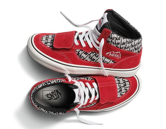 014ab4697e Jual Sepatu Vans Vault x Fear of God Mountain Edition 35 DX Red ...
