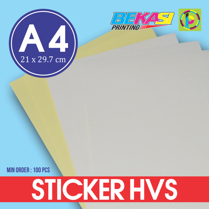 Kertas stiker hvs a4 printable sticker bisa di