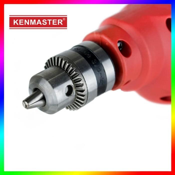 Kenmaster 10mm Mesin Bor Listrik KM-603R Bolak Balik Reversible Drill