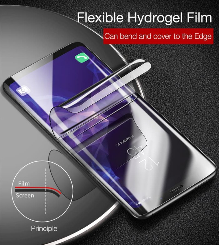 Foto Produk s8/s8 plus/s9/s9 plus Cafele Hydrogel Anti Gores Full Curved Elastic dari 4K